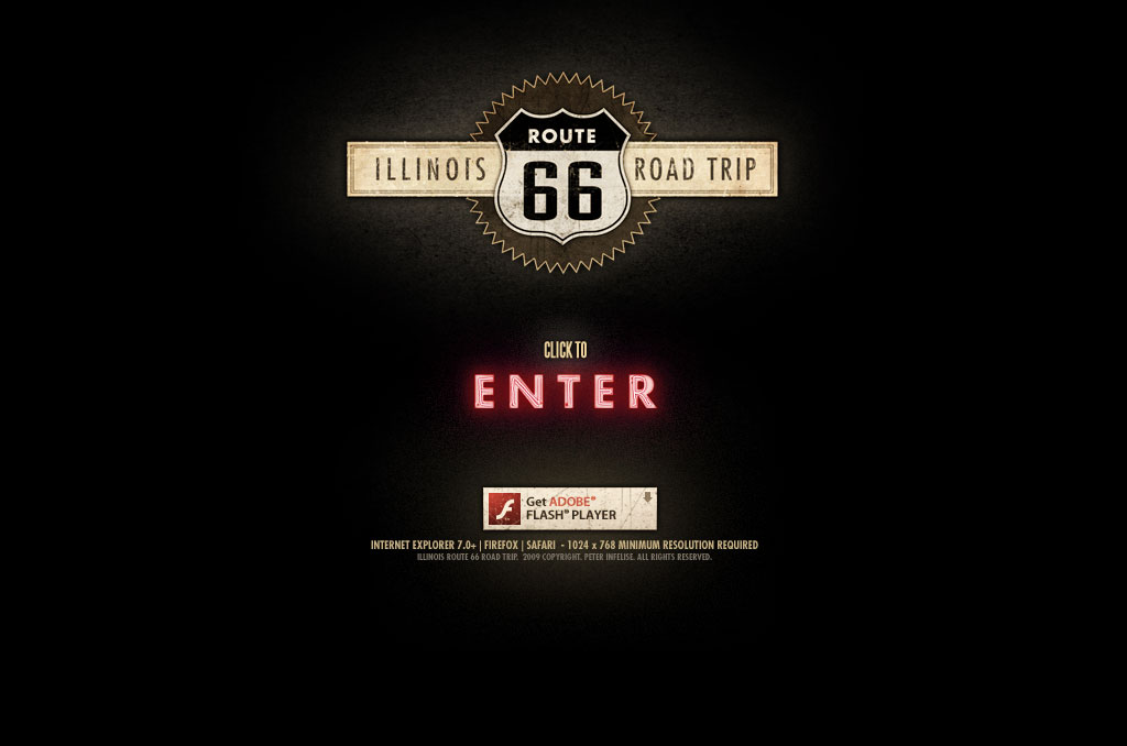 Illinois Route 66 Road Trip